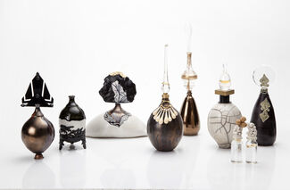 Works by the Ceramics & Glass Design Department of the Bezalel Academy of Arts and Design, installation view