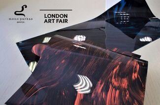 Meno parkas at London Art Fair 2019, installation view
