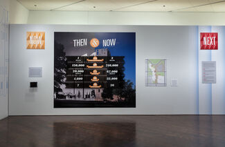 Then, Now, Next: Evolution of an Architectural Icon, installation view