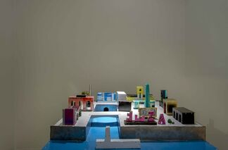 boxes of cigarettes and whisky all over the sea, ferâre my love, installation view
