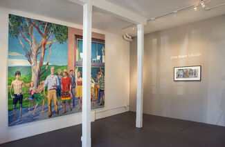 Chris Baker: Pacific, installation view
