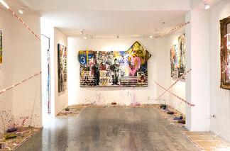 Mr.Brainwash - Milan is beautiful, installation view