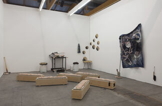 Grimmuseum at Art Brussels 2015, installation view