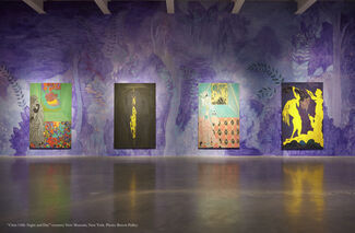Chris Ofili: Night and Day, installation view