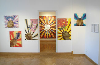'FLOWERS AND BIRDS', installation view