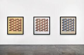 Minoan Girls by Elaine Reichek, installation view