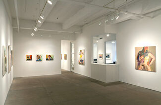 Richard Hickam: Pinkie, Maude and Other Paintings, installation view