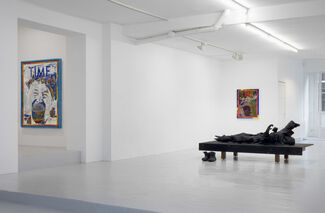Core and Strip, installation view