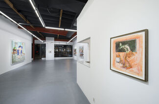 Larry Rivers Late 20th Century Works, installation view