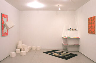 "Eric Heist and Genesis P-Orridge - ""Candy Factory"", installation view"