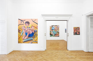Accidentally, installation view