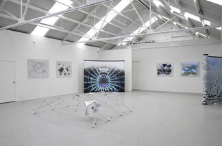 Xomia (Return Home, Realflow, All Terrain), installation view