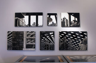 David Trulli: (space) MEN IN THE CITIES, installation view