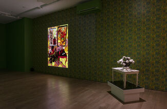 """Claudia Hart, """"The Ruins"""", installation view"""