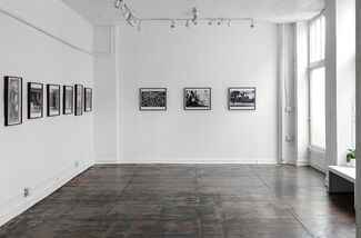 """""""Double Vision"""" by George Rodriguez, installation view"""