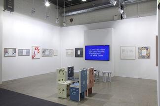 Kadel Willborn at Art Basel 2014, installation view