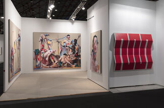 The Hole at Art Los Angeles Contemporary 2019, installation view
