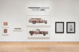 Highpoint Editions – Decade One, installation view