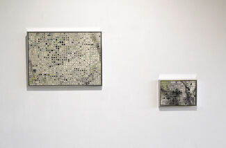 Takako Azami's solo show : Here / There, installation view