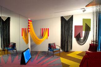 Liz Collins — Energy Field, installation view