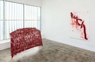 Rives Granade   Red Poem, installation view