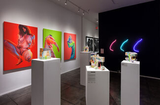 24th Annual NO DEAD ARTISTS International Juried Exhibition of Contemporary Art, installation view