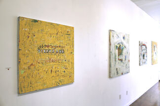 UNREADABLE DIARY: JUNGWOO HONG, installation view