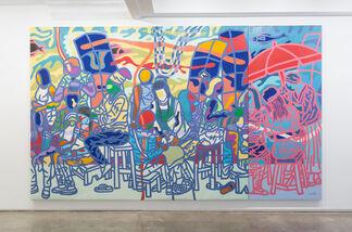 Ajarb Bernard Ategwa, Princesses de Nuit, installation view