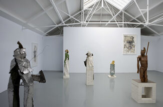 Matthew Monahan, installation view