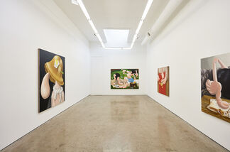 LOUISE BONNET   PAINTINGS, installation view