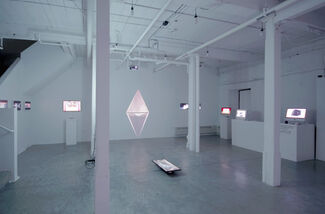 Geographically Indeterminate Fantasies: The Animated GIF as Place (IRL), installation view
