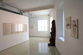 Approaching Abstraction, installation view