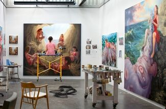 Leviathan (from The Manifesting Prophecy Series), installation view