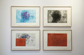 Sverre Bjertnes - Nye grafiske arbeider, installation view
