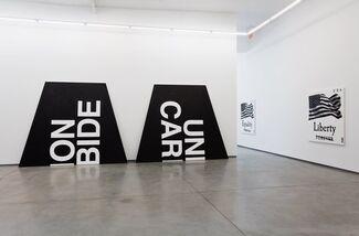 """Gardar Eide Einarsson - """"FREEDOM, MOTHERFUCKER. DO YOU SPEAK IT?"""", installation view"""