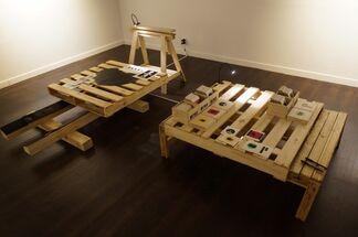 Lo han Solo Exhibition, installation view
