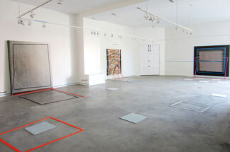 Kelley Johnson: Painting Untitled 1, installation view