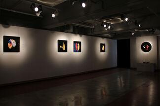 Niko de La Faye: Visages, installation view