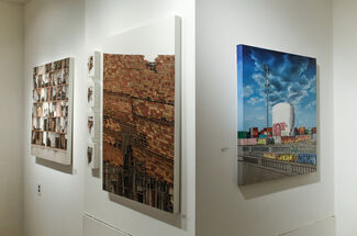 Waning Worlds, installation view