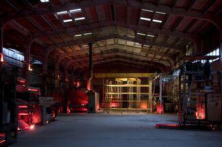Sarkis, 'Golden Scaffold', installation view