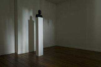 Split by Konrad Smoleński, Gregory Whitehead, Mattin, and Jack Sutton, installation view