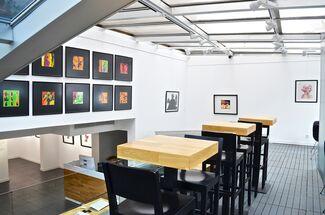 "Bert Stern - ""The Last Sitting"" with Swarovski Crystals, installation view"