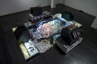 Liquid Hand, installation view