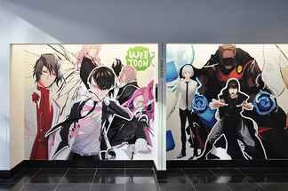 Webtoon: The Evolution of Korean Digital Comics, installation view