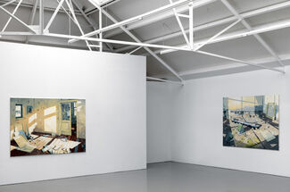 Sven Kroner - In the Studio, installation view