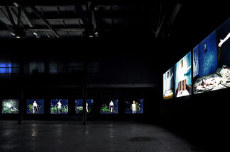 Partly Cloudy, installation view