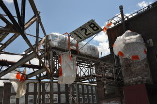 Michael Oatman: All Utopias Fell, installation view