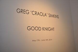Greg 'Craola' Simkins - Good Knight, installation view