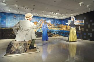 Big Landscape, Big West, installation view