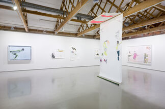 ruby onyinyechi amanze: there are even moonbeams we can unfold, installation view